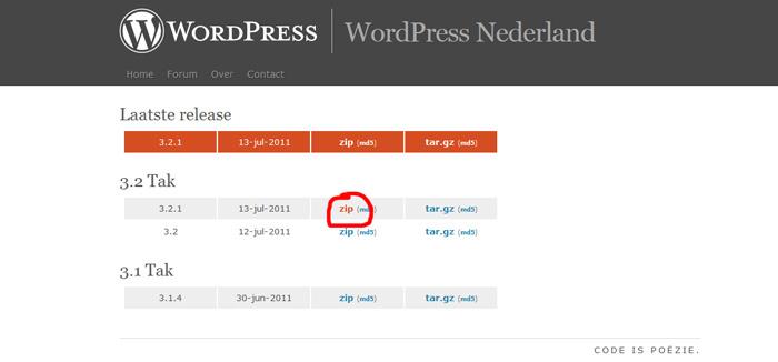 Handleiding-Installatie-WordPress-downloaden-wordpress