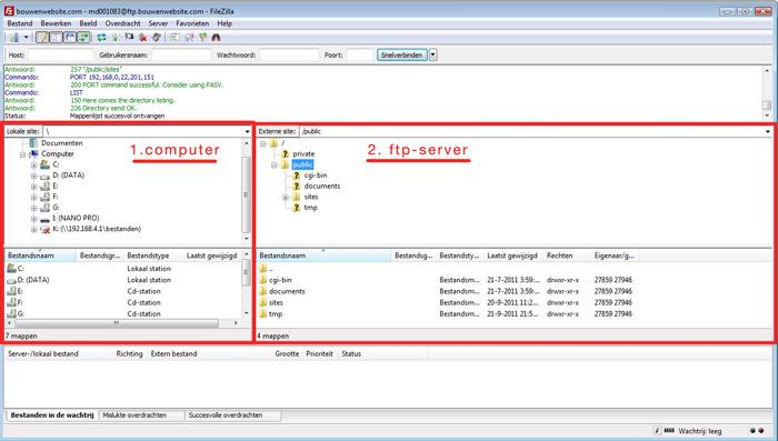 Handleiding-Installatie-WordPress-uploaden-filezilla-1