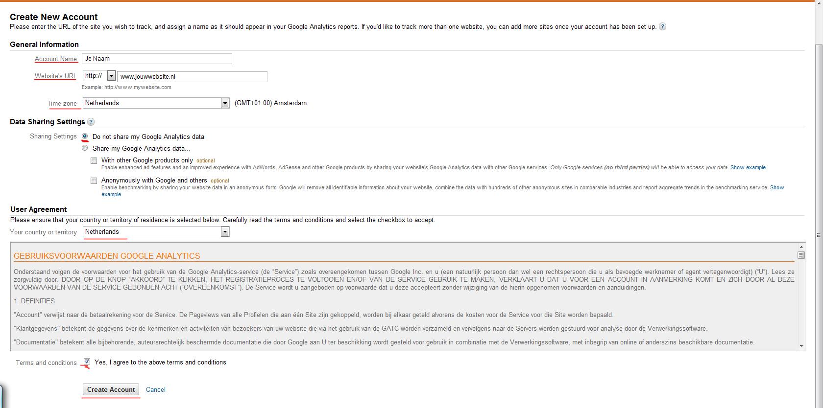 aanmelden-google-analytics-formulier-invullen