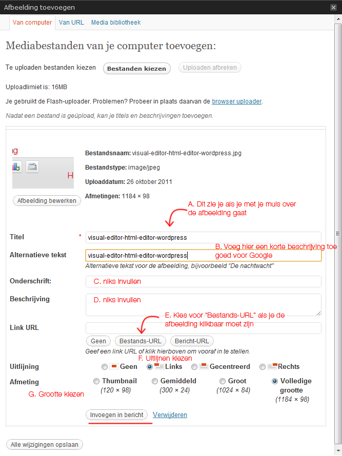 afbeelding-invoegen-wordpress-instellingen