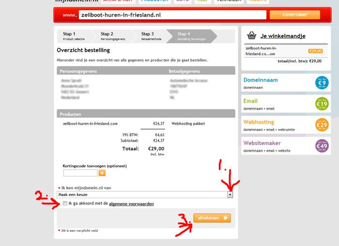 bouwen website-1-controleer-persoonsgegevens-betaalgegevens