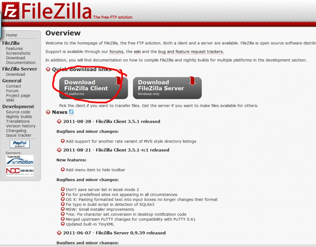 handleiding-ftp-programma-filezilla-installeren-stap-1
