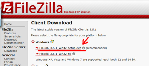 handleiding-ftp-programma-filezilla-installeren-stap-2