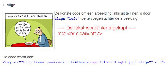 html-code-tekst-afkappen