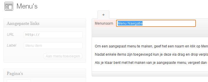 menu-maken-wordpress-menunaam