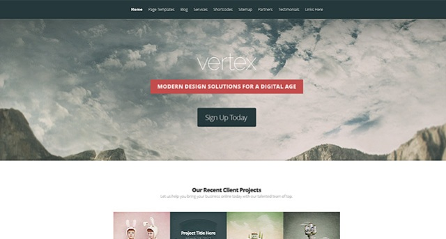vertex-wp-theme