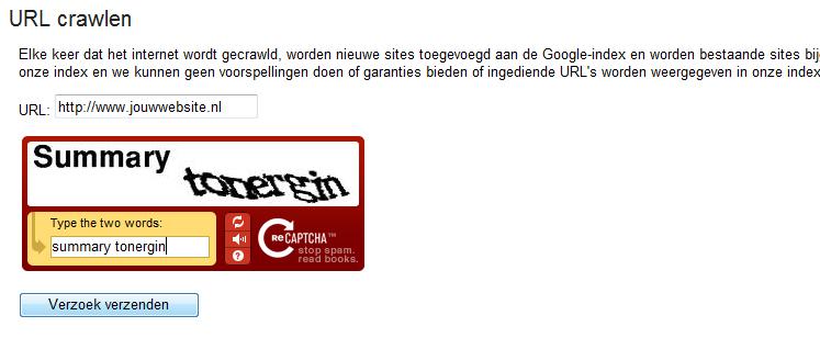 website-aanmelden-aanmeldlink-google